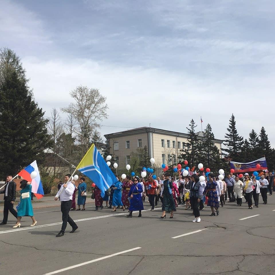 Сотрудники Реснаркодиспансера принимают участие в праздничных мероприятиях в честь Праздника Весны и Труда!